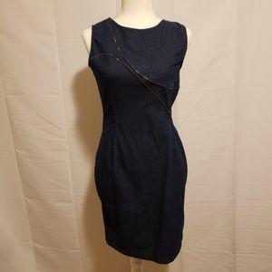 Amelia Zipper Mini Dress size 8